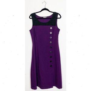 eShakti Sleeveless Colorblock Dress Button Down 14